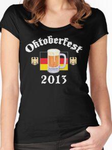 Oktoberfest 2013 Drinking Team Women's Fitted Scoop T-Shirt