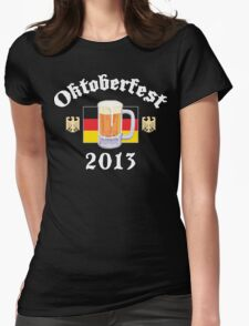 Oktoberfest 2013 Drinking Team Womens Fitted T-Shirt