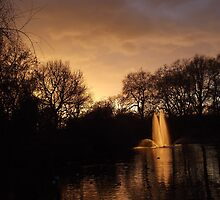 St. James's Park on Sunset 3 by MiyuSusy