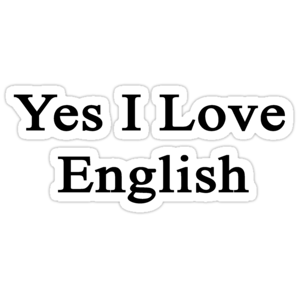 Yes I Love English  by supernova23