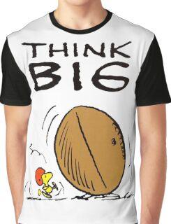 Woodstock Peanuts Think Big Graphic T-Shirt
