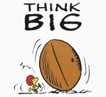 Woodstock Peanuts Think Big One Piece - Short Sleeve