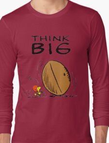 Woodstock Peanuts Think Big Long Sleeve T-Shirt