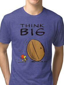 Woodstock Peanuts Think Big Tri-blend T-Shirt