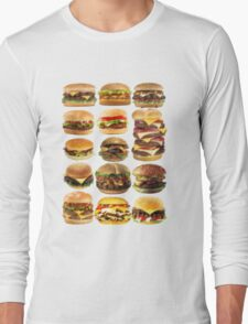 Cheese buger Long Sleeve T-Shirt