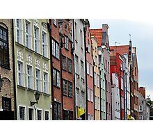 Gdansk, Poland. Photographic Print