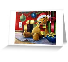 There's a Bear Under My Tree Greeting Card