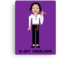 8-Bit Vreeland Canvas Print