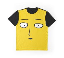 One Punch Man Happy Graphic T-Shirt