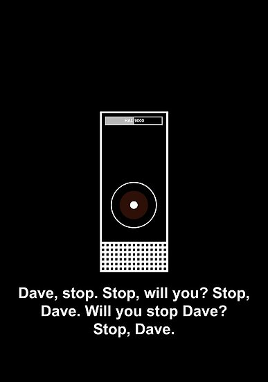 Hal 9000 Minimalist DAVE?! by SGreville