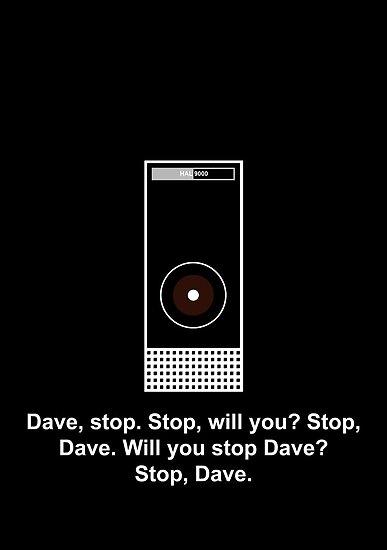 Hal 9000 Minimalist DAVE?! by SGreville