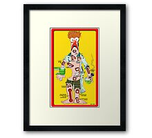 Beaker Operation Framed Print