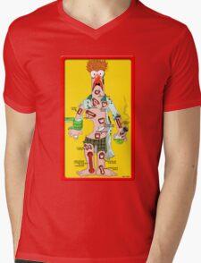 Beaker Operation Mens V-Neck T-Shirt