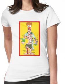 Beaker Operation Womens Fitted T-Shirt