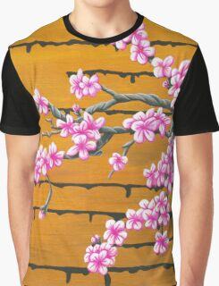 October Cherry Blossoms Graphic T-Shirt