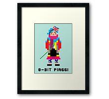 8-Bit Piaggi Framed Print