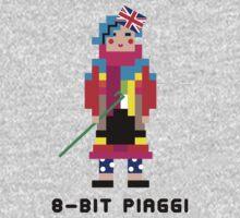 8-Bit Piaggi One Piece - Long Sleeve