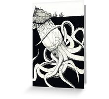 What Lies Beneath the Waves Greeting Card
