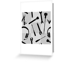 Stage Tools Greeting Card