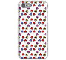 Pokeball Parade iPhone Case/Skin