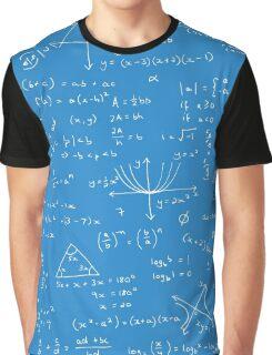 Algebra Math Sheet 2 Graphic T-Shirt