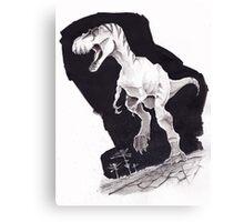 Sprinting Gorgosaurus libratus Canvas Print