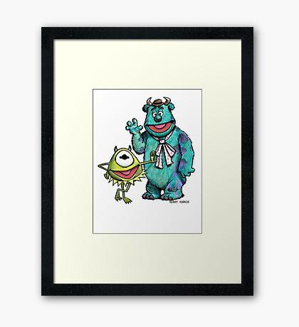Muppets Inc. Framed Print