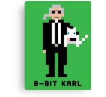 8-Bit Karl Canvas Print