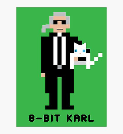 8-Bit Karl Photographic Print