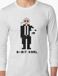 8-Bit Karl Long Sleeve T-Shirt