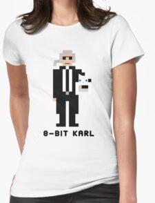 8-Bit Karl Womens Fitted T-Shirt