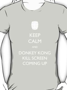 Keep Calm and Donkey Kong Kill Screen T-Shirt