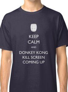 Keep Calm and Donkey Kong Kill Screen Classic T-Shirt