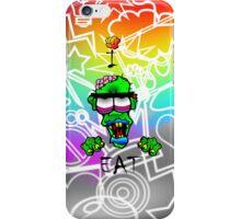 i-brow design: ( i-eat ) iPhone Case/Skin