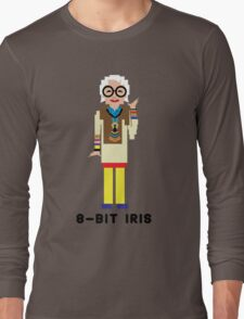 8-Bit Iris Long Sleeve T-Shirt