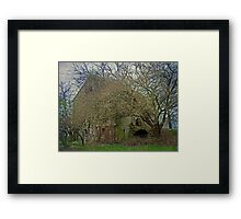 Irresistible Forces Meet Immovable Object Framed Print