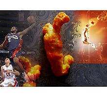 Cheeto Lebron Photographic Print