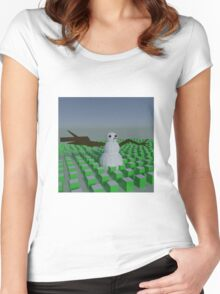 Happy Snowman Clothing Women's Fitted Scoop T-Shirt