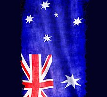 Australian Flag, Downunder, Aussie flag by NaturePrints