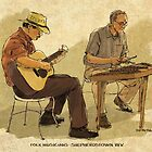Folk Musicians by RGMcMahon