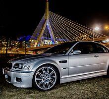 E46 Silver BMW M3 by Gleb Zverinskiy