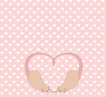 Rat Heart by tanzelt