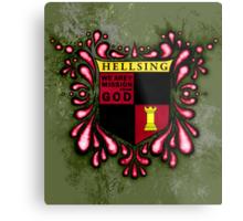 Hellsing Coat of arms Metal Print