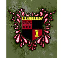 Hellsing Coat of arms Photographic Print