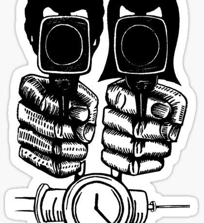 Pulp Fiction - Jules and Vincent Sticker