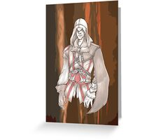EZIO AUDITORE #1 Greeting Card
