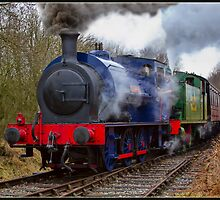 Hunslet 0-6-0t  by alan tunnicliffe