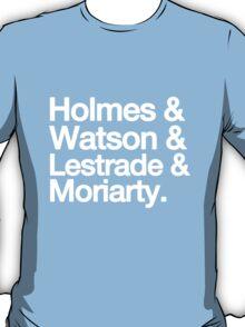 The Men Of BBC Sherlock T-Shirt