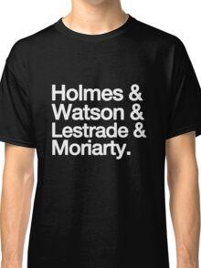 The Men Of BBC Sherlock Classic T-Shirt
