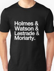The Men Of BBC Sherlock Unisex T-Shirt